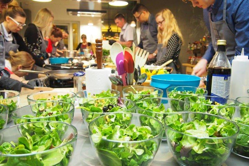warsztaty kulinarne, integracja firmowa